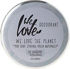 """Voňavky, Parfémy, kozmetika Prírodný krém deodorant """"So Sensitive"""" - We Love The Planet Deodorant So Sensitive"""