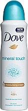 """Voňavky, Parfémy, kozmetika Dezodorant """"Dotyk prírody"""" - Dove Mineral Touch Deo Spray"""