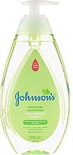 Voňavky, Parfémy, kozmetika Šampón pre deti s harmančekom (s dávkovačom) - Johnson's Baby Chamomile