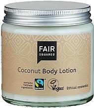 """Voňavky, Parfémy, kozmetika Lotion na telo """"Kokos"""" - Fair Squared Body Lotion Coconut"""