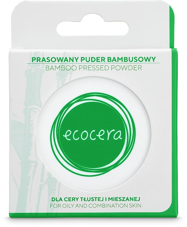 Bambusový púder na tvár - Ecocera Bamboo Pressed Face Powder — fotogafie N3