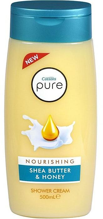 Sprchový krém-gél - Cussons Pure Shower Cream Nourishing Shea Butter & Honey