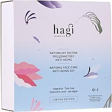 Voňavky, Parfémy, kozmetika Sada - Hagi Natural Face Care Anti-aging Set (cr/30ml + elixir/30ml)