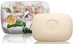 """Voňavky, Parfémy, kozmetika Toaletné mydlo """"Ruža"""" - Saponificio Artigianale Fiorentino Rose Soap"""