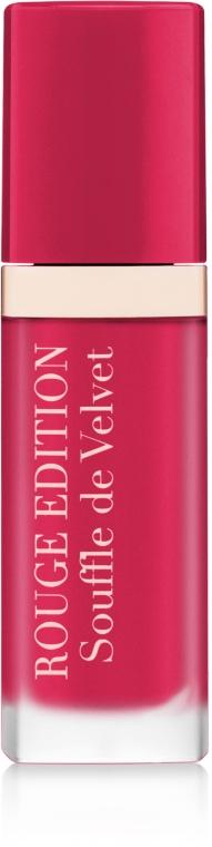 Tekutý matný rúž - Bourjois Rouge Edition Souffle de Velvet Lipstick — Obrázky N1