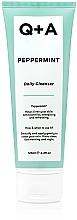 Voňavky, Parfémy, kozmetika Čistiaci prostriedok na tvár s mätou - Q+A Peppermint Daily Cleanser