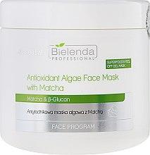 Voňavky, Parfémy, kozmetika Antioxidačná maska s riasami - Bielenda Professional Face Program Antioxidant Algae Face Mask With Matcha
