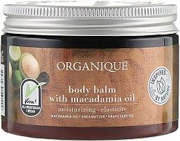 Voňavky, Parfémy, kozmetika Balzam na telo s makadamiovým olejom - Organique Shea Butter Body Balm With Macadamia Oil