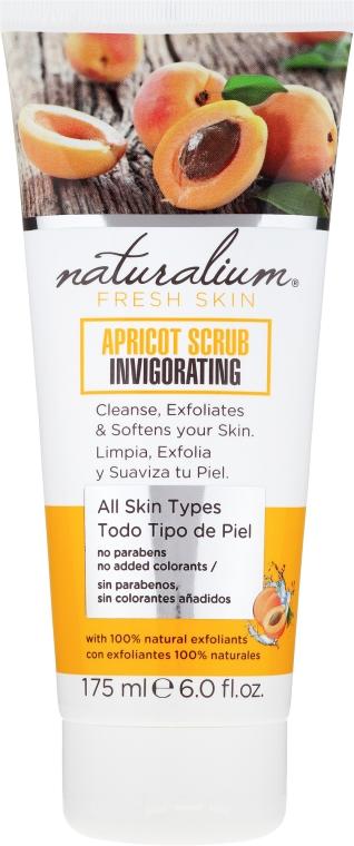 Scrub na telo - Naturalium Invigorating Apricot Scrub — Obrázky N1