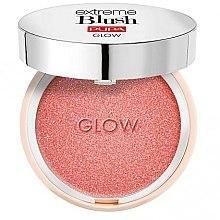 Voňavky, Parfémy, kozmetika Kompaktná lícenka s efektom trblietania - Pupa Extreme Blush Glow