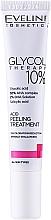 Voňavky, Parfémy, kozmetika Kyselinový peeling 10% - Eveline Glycol Therapy Kwasowa Kuracja Peelingujaca 10%