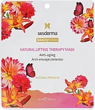 Voňavky, Parfémy, kozmetika Prírodná maska Liftingová terapia - SesDerma Laboratories Beauty Treats Natural Lifting Therapy Mask