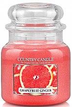 "Voňavky, Parfémy, kozmetika Vonná sviečka ""Grapefruit and Ginger"" - Country Candle Grapefruit Ginger"