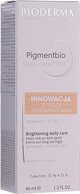 Krém na tvár - Bioderma Pigmentbio Daily Care Brightening Daily Care SPF 50+