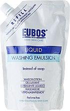 Voňavky, Parfémy, kozmetika Sprchovácia emulzia - Eubos Med Basic Skin Care Liquid Washing Emulsion (vymeniteľná jednotka)