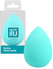 Voňavky, Parfémy, kozmetika Špongia-kvapka na make-up, tyrkysová - Ilu Sponge Raindrop Turquoise