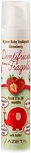 """Voňavky, Parfémy, kozmetika Detská zubná pasta """"Jahoda"""" - Azeta Bio Organic Baby Toothpaste Strawberry"""