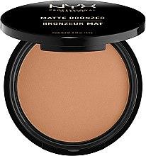 Voňavky, Parfémy, kozmetika Bronzujúci púder matný - NYX Professional Makeup Matte Bronzer
