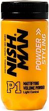 Voňavky, Parfémy, kozmetika Stylingový púder na dodanie objemu - Nishman Styling Powder