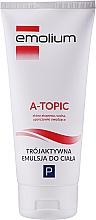 Voňavky, Parfémy, kozmetika Emulzia na telo - Emolium A-topic Emulsion
