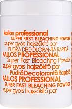 Voňavky, Parfémy, kozmetika Bieliaci prášok na vlasy - Kallos Cosmetics Powder For Hair Bleaching