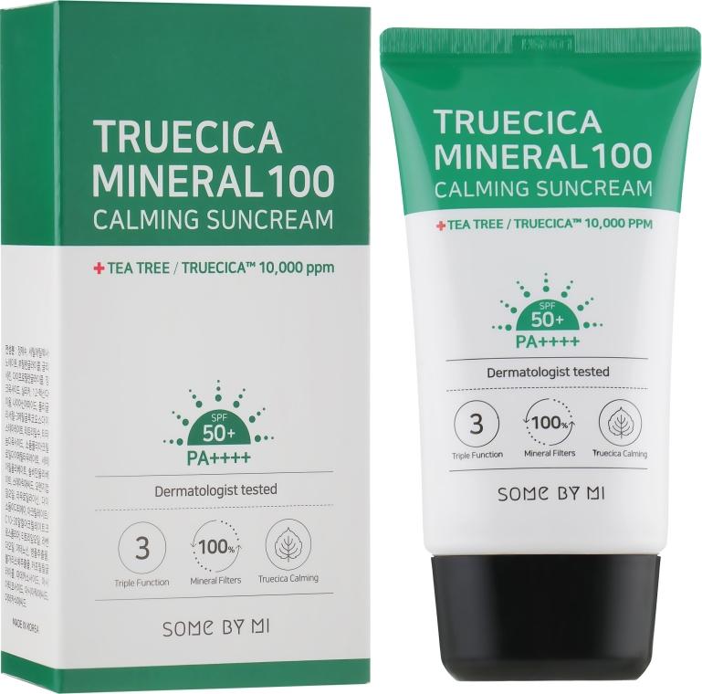 Krém s SPF ochranou - Some By Mi Truecica Mineral 100 Calming Suncream spf 50 PA++++