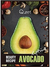 Voňavky, Parfémy, kozmetika Maska s liftingovým efektom - Quret Beauty Recipe Mask Avocado Lifting