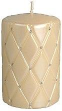 Voňavky, Parfémy, kozmetika Dekoratívna sviečka, 10 cm, krémová - Artman Florence Candle