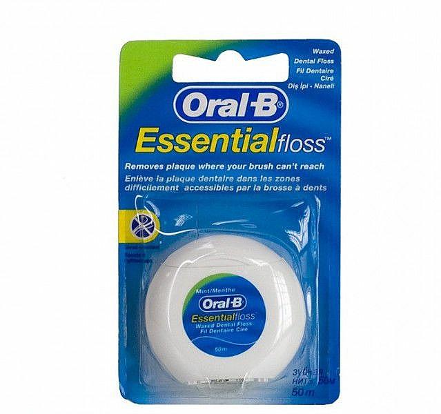 """Zubná niť """"mätová"""" - Oral-B Essential Floss"""