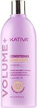 Voňavky, Parfémy, kozmetika Kondicionér pre objem vlasov - Kativa Volume + Conditioner
