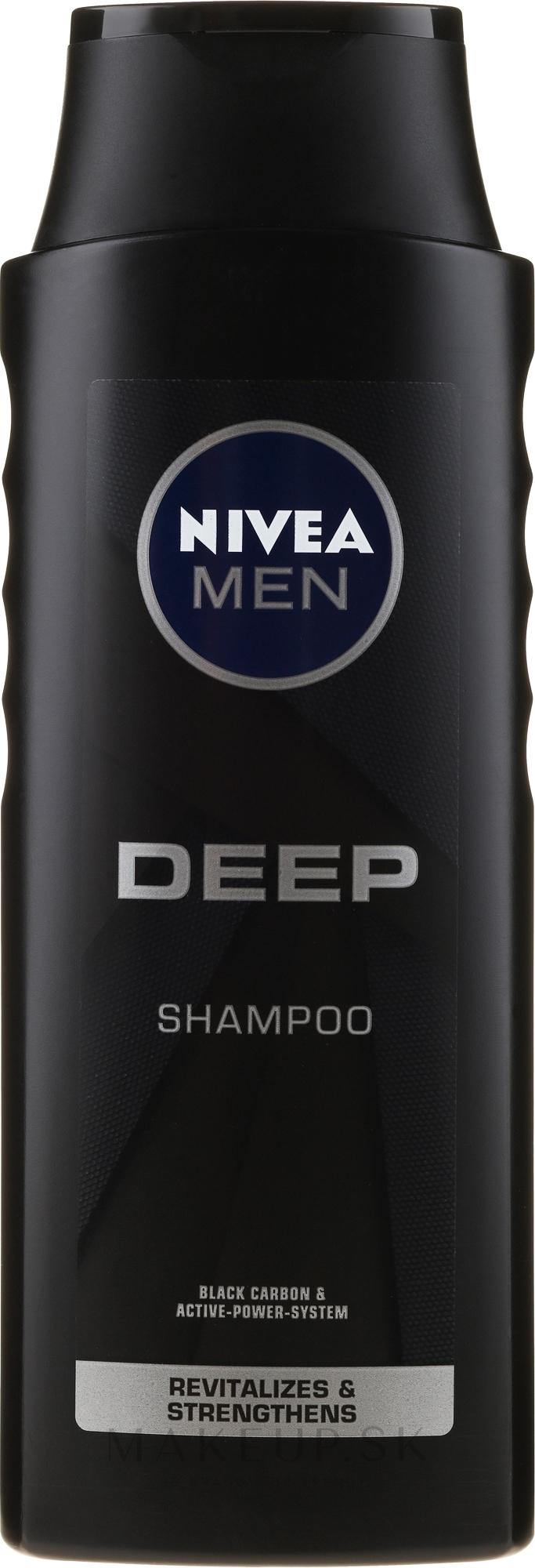 Revitalizačný šampón pre mužov - Nivea Men Deep Revitalizing Shampoo — Obrázky 400 ml