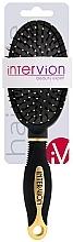 Voňavky, Parfémy, kozmetika Pneumatická kefa na vlasy, 499252, čierno-zlatá - Inter-Vion