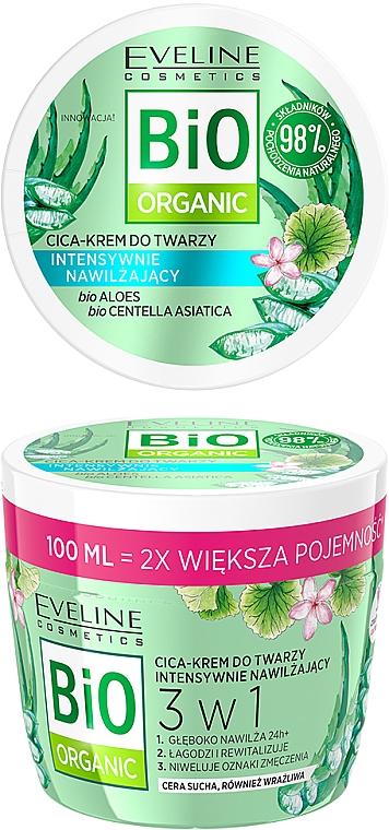 Intenzívne hydratačný krém na tvár - Eveline Cosmetics Bio Organic Face Cream