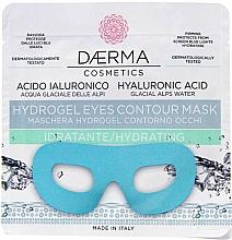 Voňavky, Parfémy, kozmetika Hydrogélová maska na pokožku okolo oči s hydratačným a protiedémovým účinkom - Daerma Cosmetics Hydrogel Eyes Contour Mask