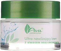 Voňavky, Parfémy, kozmetika Ultrahydratačný krém s kyselinou hyalurónovou - AVA Laboratorium Ultra Moisturizing Hyaluronic Cream