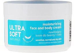 Voňavky, Parfémy, kozmetika Hydratačný krém na tvár a tela - Ultra Soft Naturals Moisturising Face and Body Cream