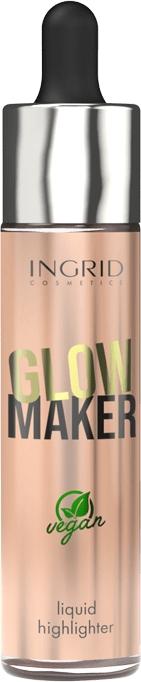 Tekutý rozjasňovač - Ingrid Cosmetics Glow Maker Bali Vegan Highlighter