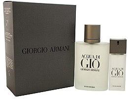 Voňavky, Parfémy, kozmetika Giorgio Armani Acqua Di Gio Pour Homme - Sada (edt/100ml + edt/15ml)