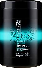 """Voňavky, Parfémy, kozmetika Reštrukturalizačná maska pre poškodené vlasy """"Keratínový proteín"""" - Black Professional Line Keratin Protein Mask"""