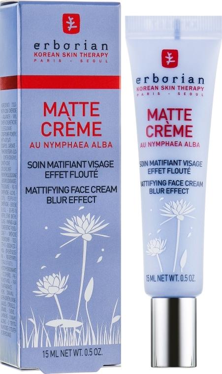Zmatňujúci krém na tvár - Erborian Matt Cream — Obrázky N1