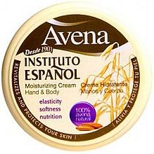 Voňavky, Parfémy, kozmetika Hydratačný krém na ruky a telo - Instituto Espanol Avena Moisturizing Cream Hand And Body