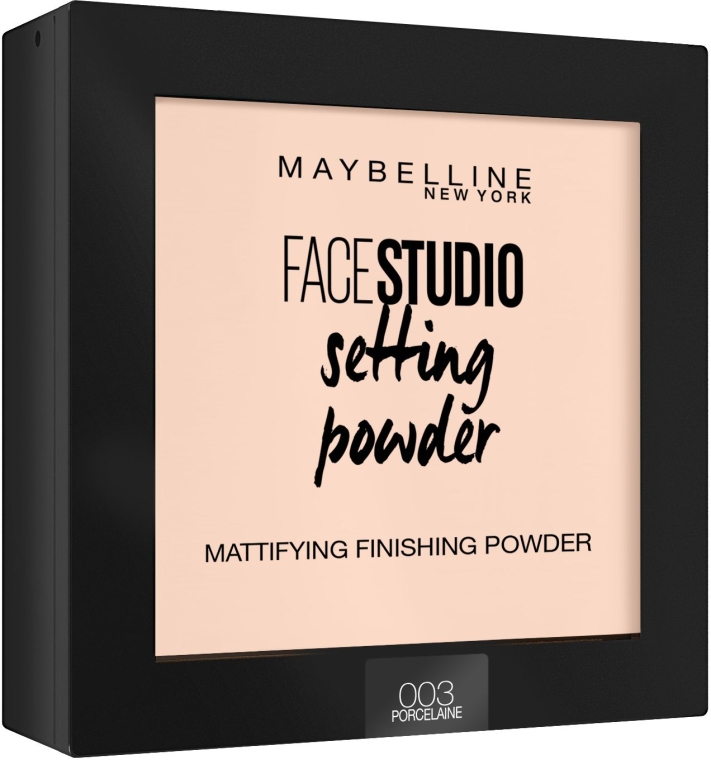 Púder na tvár matný fixačný - Maybelline Facestudio Setting Powder