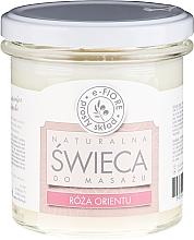 """Voňavky, Parfémy, kozmetika Masážna vonná sviečka """"Orientálna ruža"""" - E-Fiore Massage Candle"""