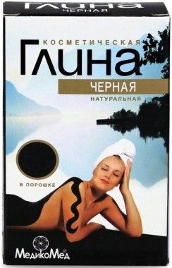 Čierna kozmetická hlina - MedikoMed — Obrázky N1