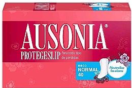 Voňavky, Parfémy, kozmetika Každodenné hygienické vložky, 40 ks  - Ausonia Protegeslip Normal