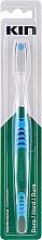Voňavky, Parfémy, kozmetika Tvrdá zubná kefka, modrá - Kin Hard Toothbrush