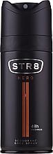 Voňavky, Parfémy, kozmetika STR8 Hero - Deodorant v spreji