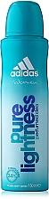 Voňavky, Parfémy, kozmetika Adidas Pure Lightness - Deodorant v spreji