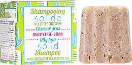 Voňavky, Parfémy, kozmetika Tuhý šampón pre mastné vlasy - Lamazuna Solid Shampoo For Oily Hair With Litsea Cubeba