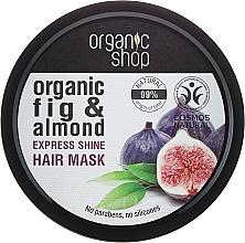 """Voňavky, Parfémy, kozmetika Maska na vlasy """"Grécka figa"""" - Organic Shop Organic Fig Tree and Almond Hair Mask"""